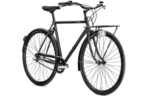 Creme Caferacer Solo miesten pyörä - Musta