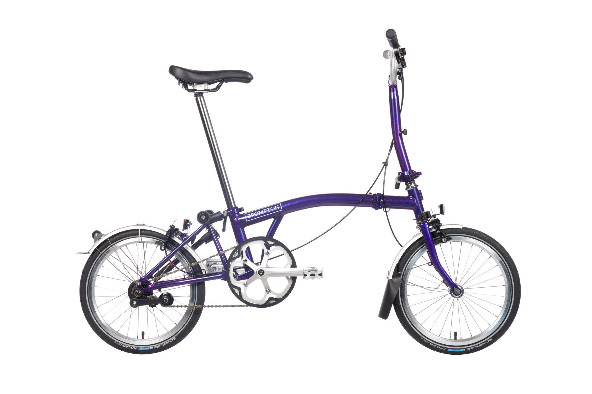 Brompton S6L Purple Metallic väri