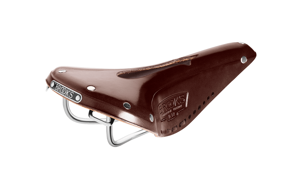 Brooks B17 Narrow Imperial satula - Ruskea