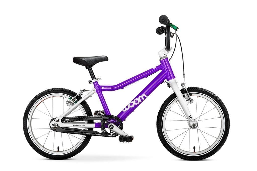 """Woom 3 lasten pyörä 16"""" - Purple haze"""