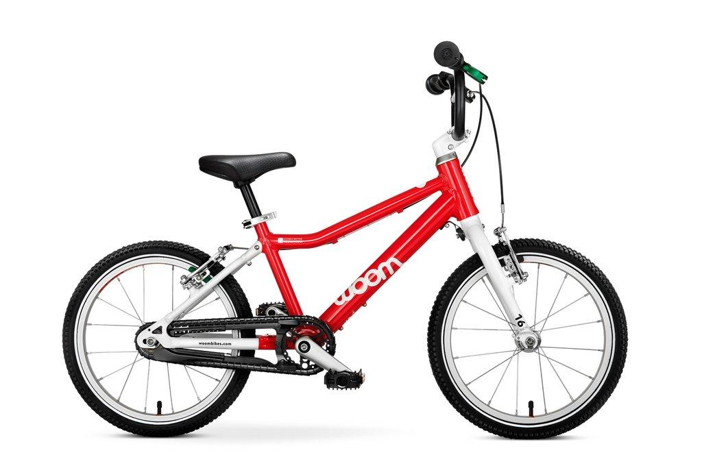"""Woom 3 lasten pyörä 16"""" - Punainen"""