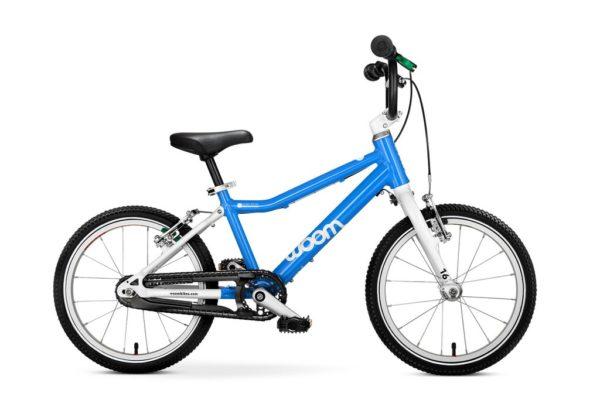 """Woom 3 lasten pyörä 16"""" - sininen"""