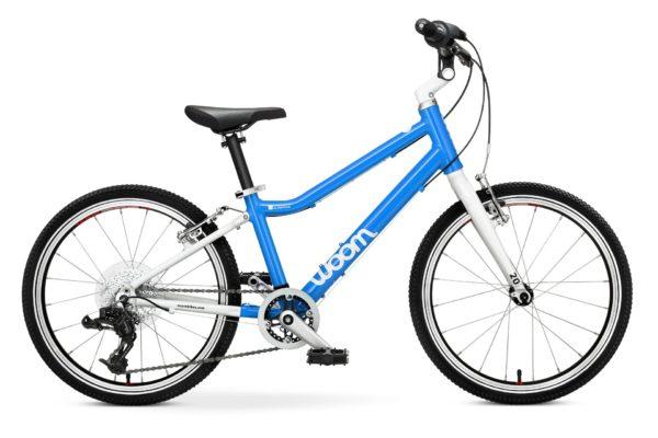 """Woom 4 lasten pyörä 20"""" renkailla - Punainen"""