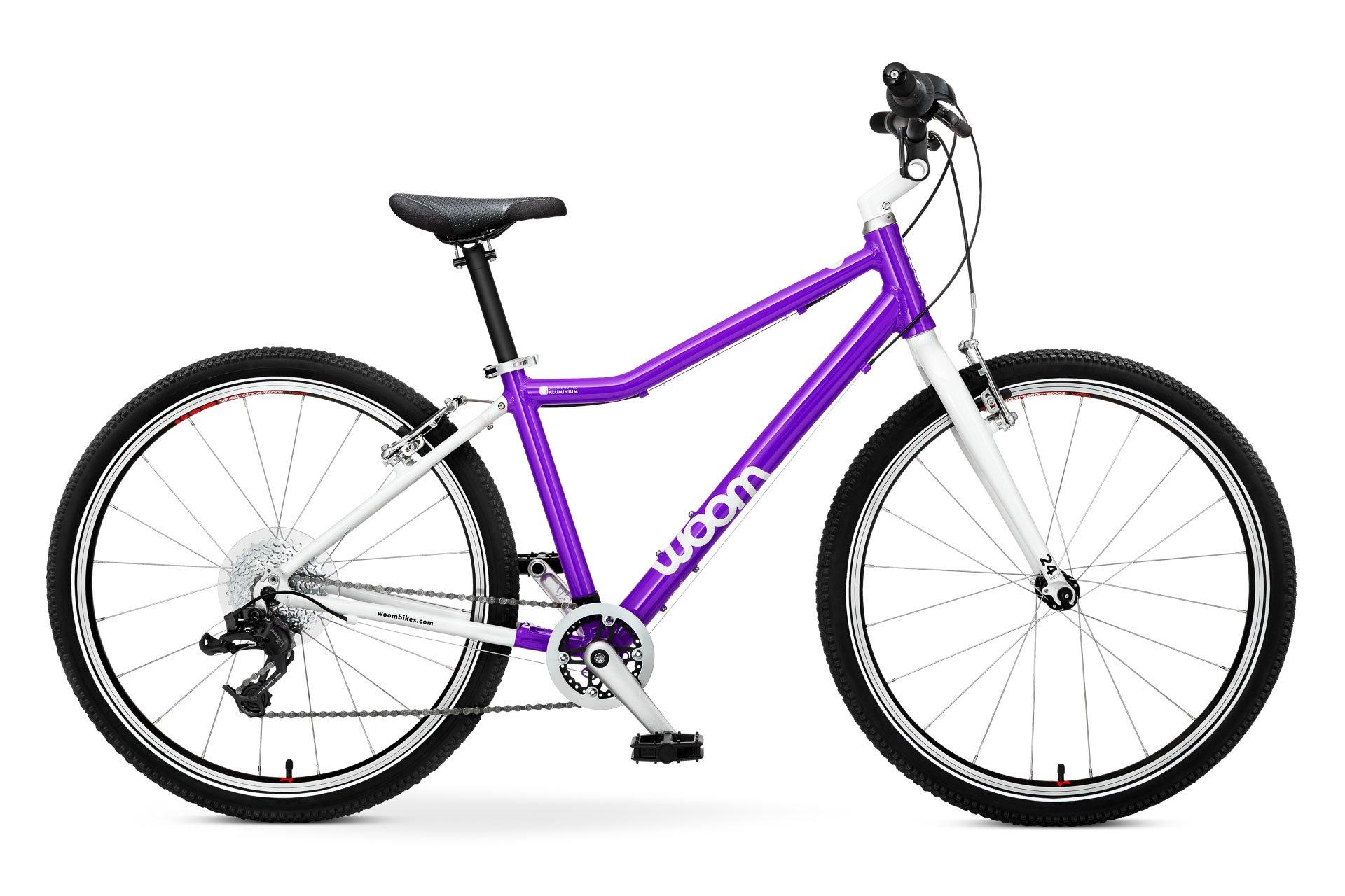 """Woom 5 lasten pyörä 24"""" renkailla - sininen"""