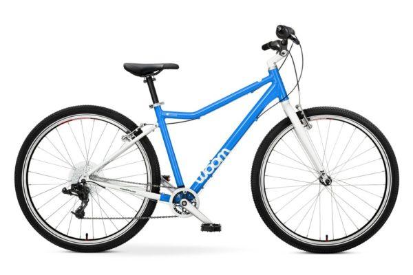 """Woom 6 pyörä 26"""" renkailla - sininen"""