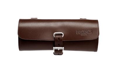 Brooks Challenge ruskea nahkainen satulalaukku työkaluille