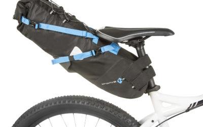 M-Wave Rough Ride Bikepacking vedenpitävä satulalaukku koko L