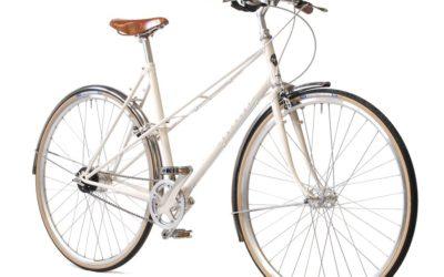 Pashley Aurora Naisten mixte pyörä – Valkoinen
