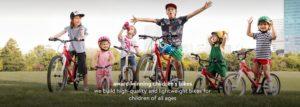 WOOM lasten pyörät